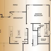 Fieldstone Floorplan Choices