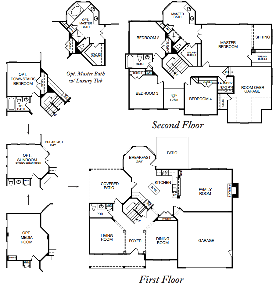 Benchmark Homes House Plans