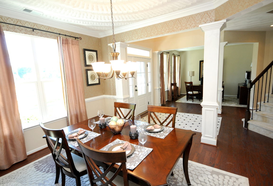 Benchmark Dining Room and Foyer