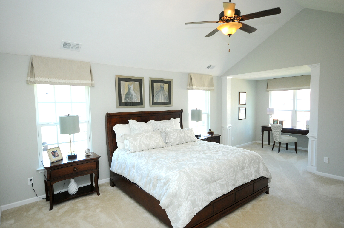 Benchmark Master Bedroom and Sitting Room