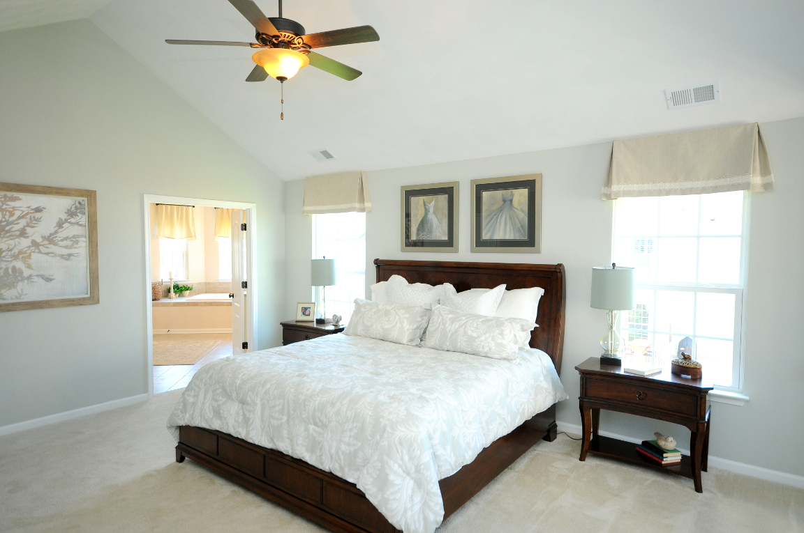 Benchmark Master Bedroom and Master Bathroom