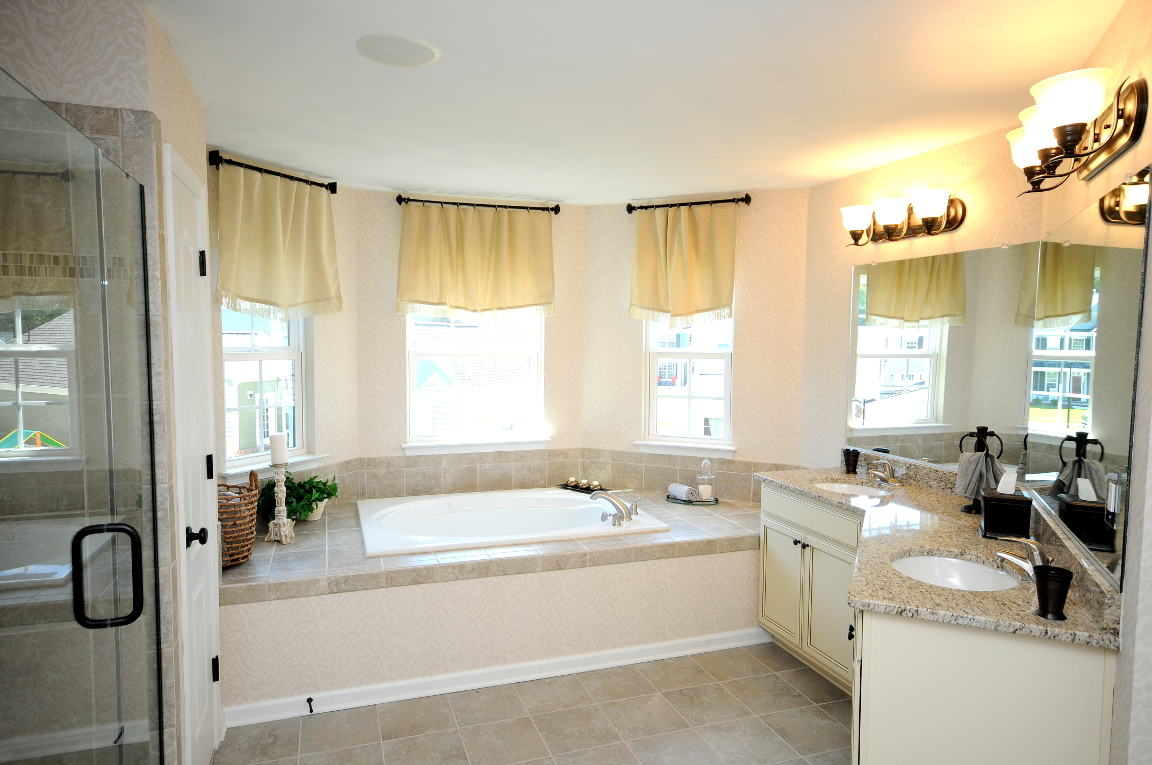 Benchmark Master Bathroom Luxury Tub