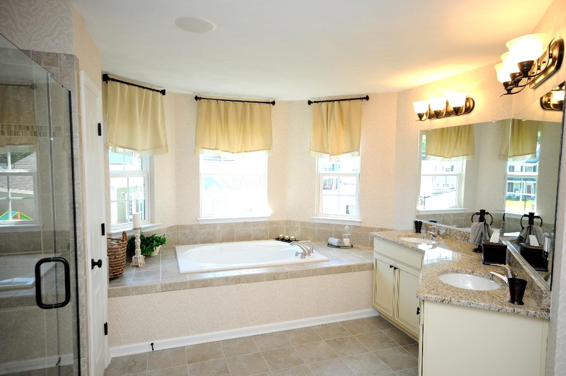 Benchmark Master Bathroom Luxury Tub
