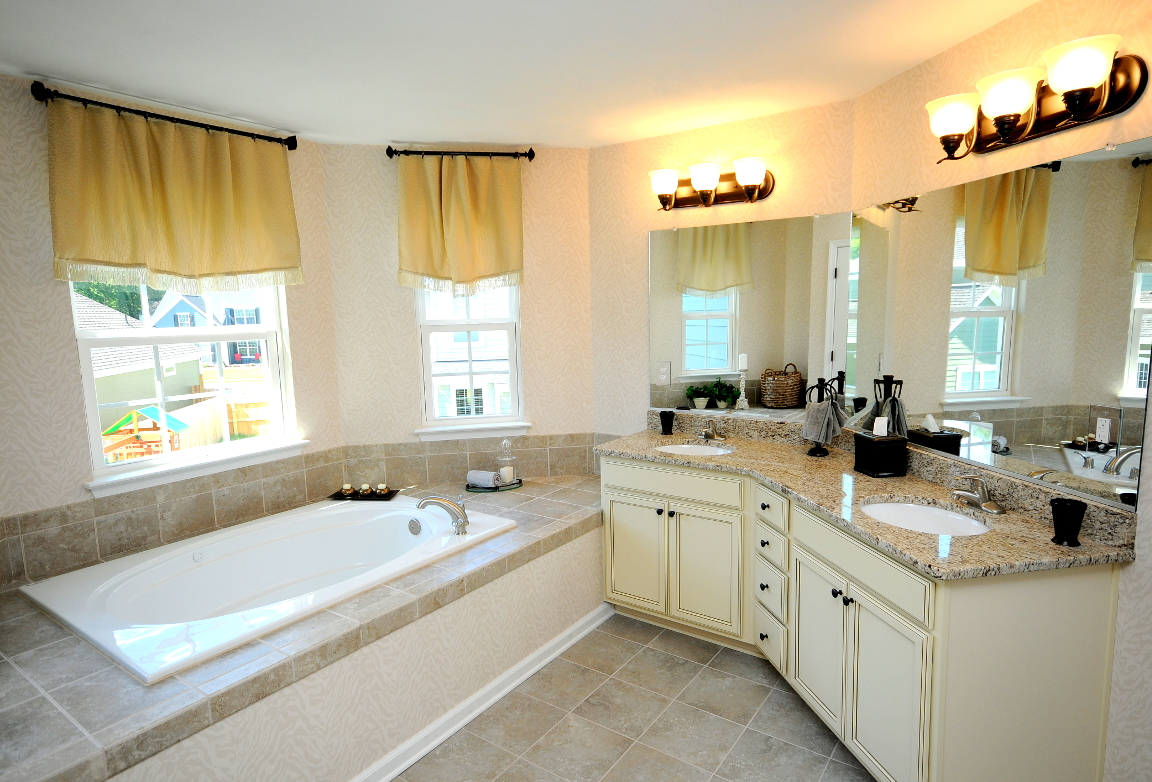 Benchmark Master Bathroom