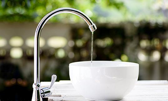 Low Flow Faucet for Energy efficient buildings